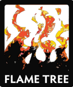 Flame Tree Foiled Notebooks