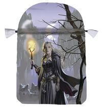 Witches Moon Satin Tarot Bag - Llewellyn